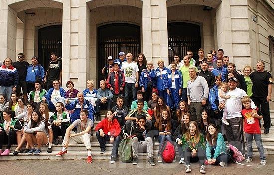 Llegaron los finalistas que compitieron en Mar del Plata