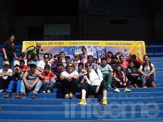 Alumnos de la Escuela Nº 60 visitaron la Ciudad de Buenos Aires