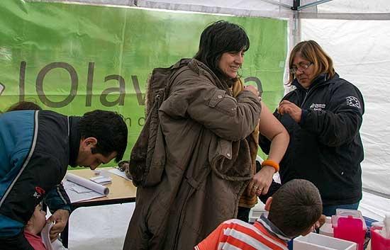 Instalarán puestos de vacunación en los Parques Mitre y Helios Eseverri
