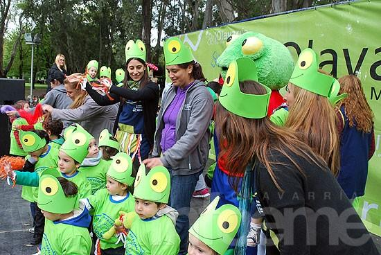 Los Jardines Maternales Municipales celebran el Día de la Familia en el Parque Helios Eseverri