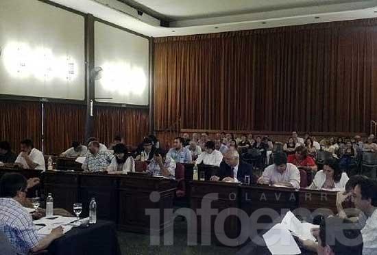 En un clima de consenso, sesionó el HCD en Loma Negra