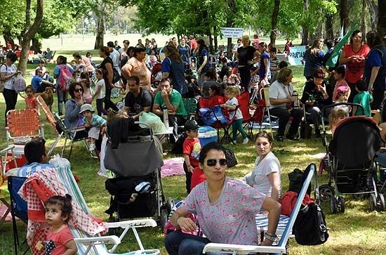 Los maternales municipales celebraron el Día de la Familia
