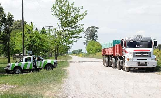 Se infraccionó a un camión con más de 34 mil kilos de carga