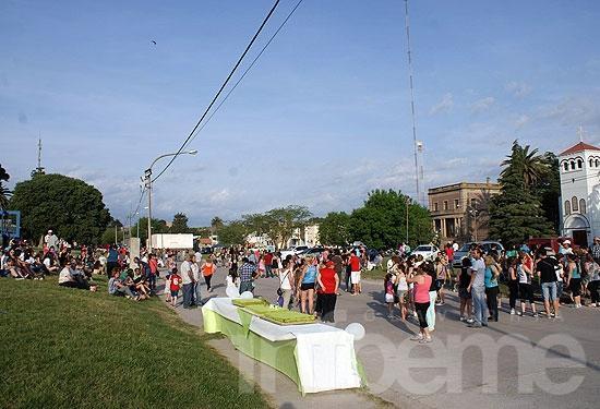 Sierras Bayas celebró sus 135 años con diversas actividades