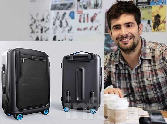 Un olavarriense diseñó la valija de la que habla el mundo tecno
