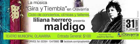 Liliana Herrero dará un concierto en el Teatro
