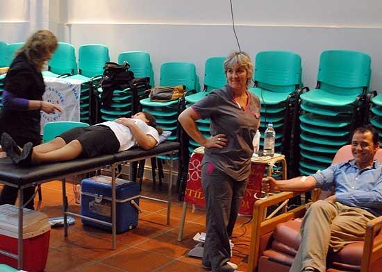 Gran convocatoria en la 4º Maratón de Donación de Sangre