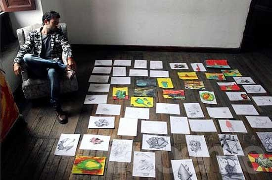 Artista olavarriense ganó un premio en Encuentro de Arte ecuatoriano