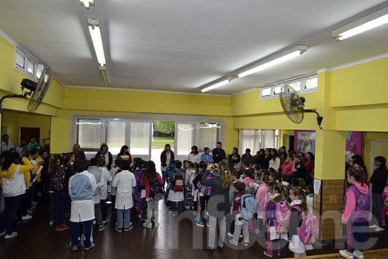 La Escuela Nº 79 de Loma Negra ya cuenta con jornada extendida