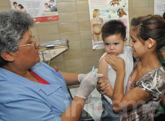 Más del 60% de niños recibieron dosis extra de vacunas