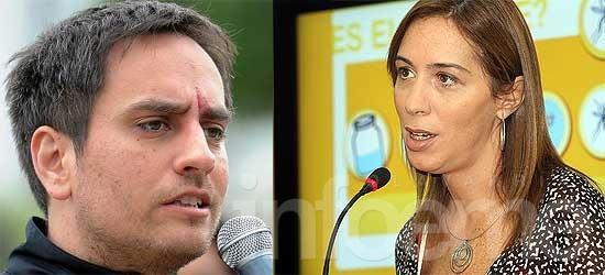 Juan Cabandié y  Eugenia Vidal estarán este viernes en Olavarría