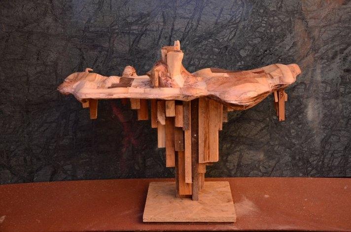 Martín Merlos, el escultor olavarriense premiado en Misiones