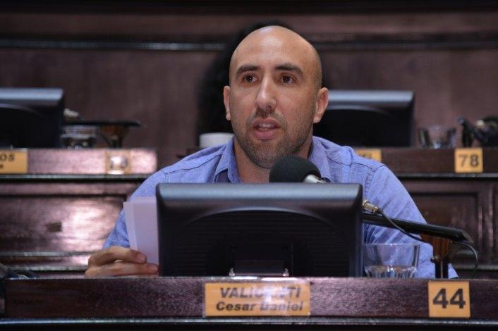 Diputados aprobó un proyecto de Valicenti sobre el juego compulsivo