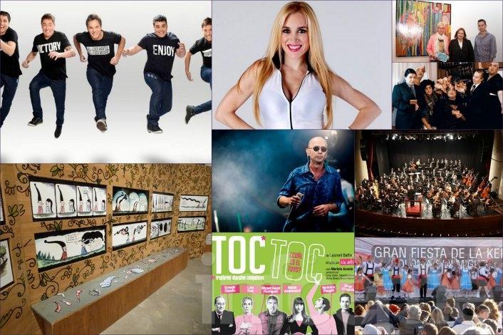 El primer fin de semana de octubre propone música y teatro