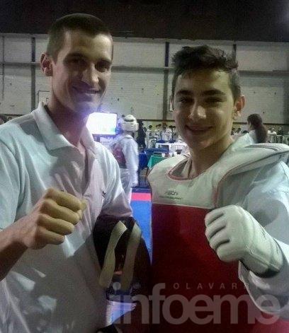 Rodrigo Merlos fue medalla de plata en La Matanza