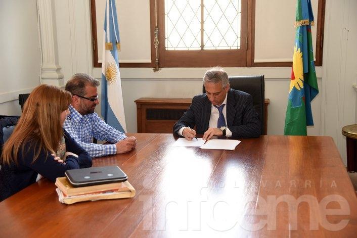 El Municipio firmó convenio con la Dirección Provincial de Cultura