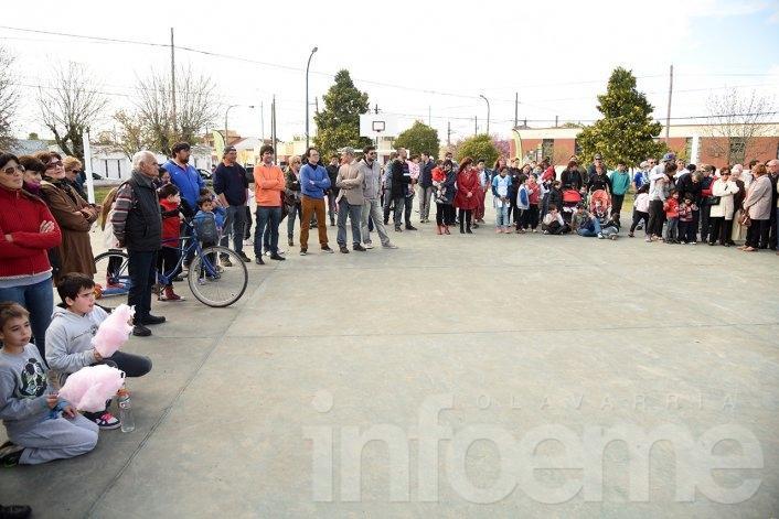 Quedó reinaugurada la Plaza Libertad en el barrio Luján