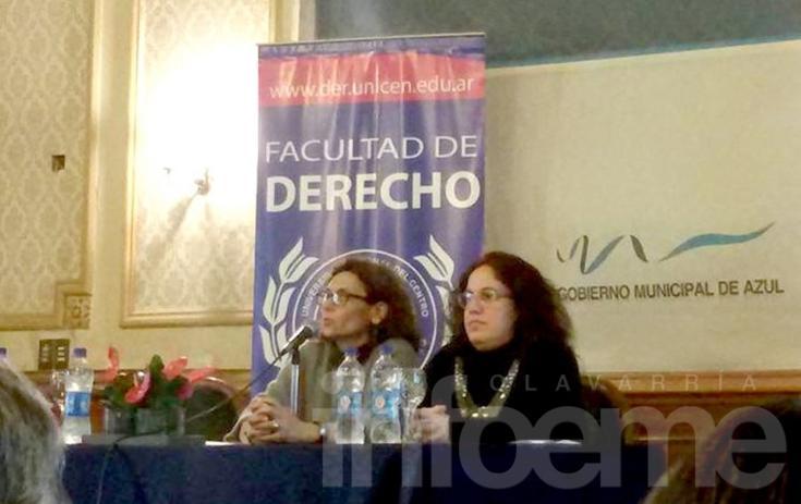 Docentes de la FACSO participaron en jornadas sobre Infancia y Violencia en Azul