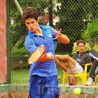 Mateo Julio fue subcampeón en Buenos Aires