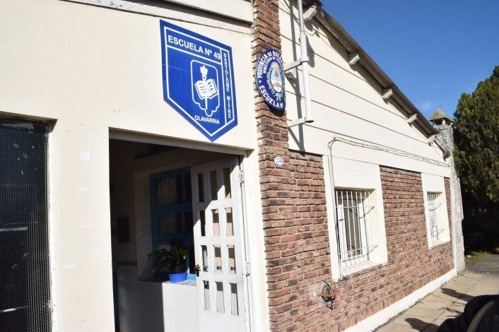 Dos meses después algunos alumnos volverán al edificio de la Escuela Nº49