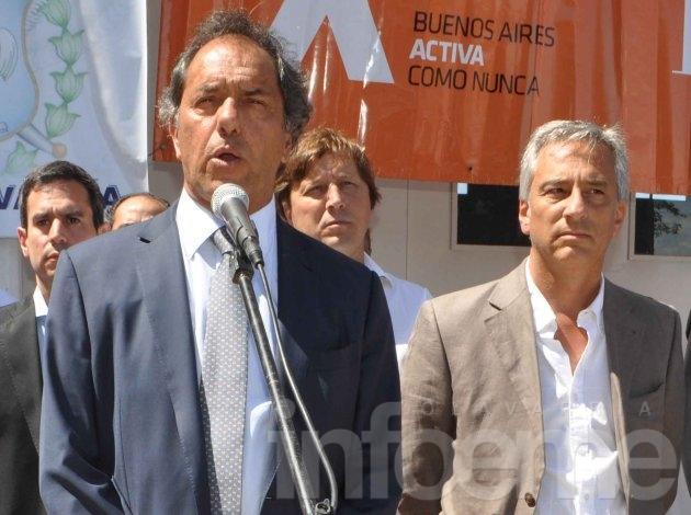 Scioli suspendió su visita a la ciudad