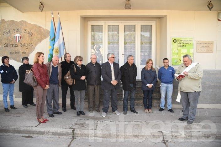 Inauguraron la nueva Delegación de Sierras Bayas