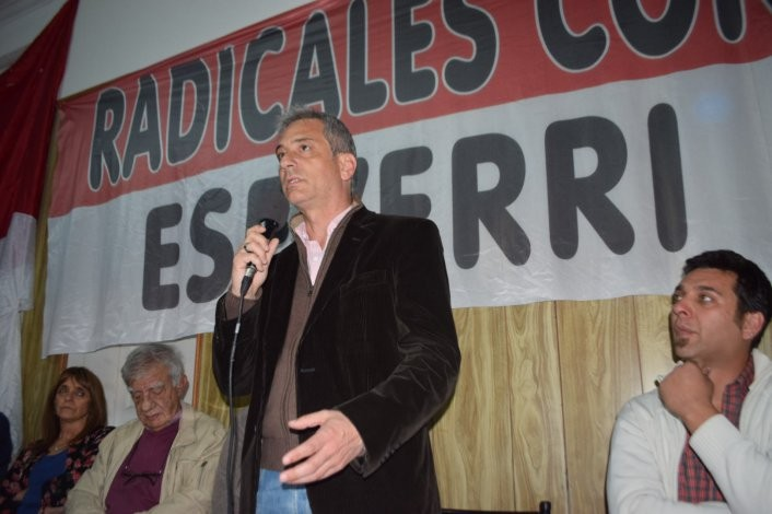 """Abrieron la casa """"Radicales con José"""" en respaldo a Eseverri"""