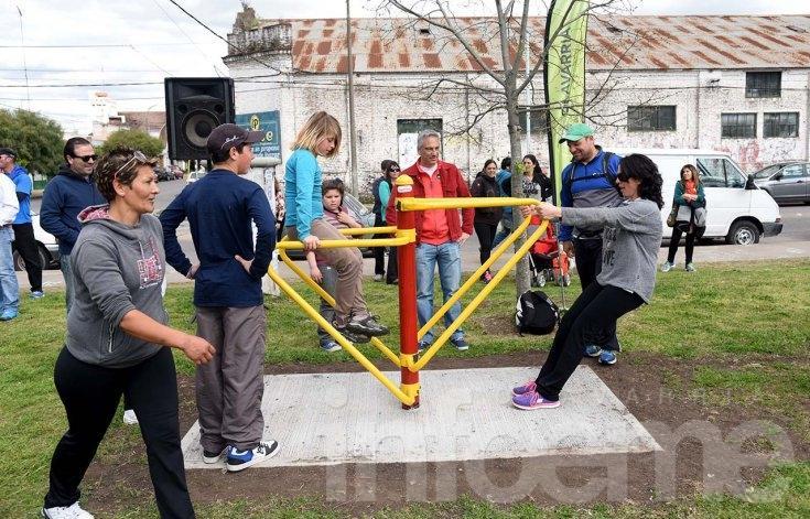 Se inauguró la Plaza Saludable del Bicentenario