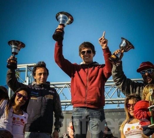 Ezequiel Tosoni ganó el Enduro de Monte Hermoso