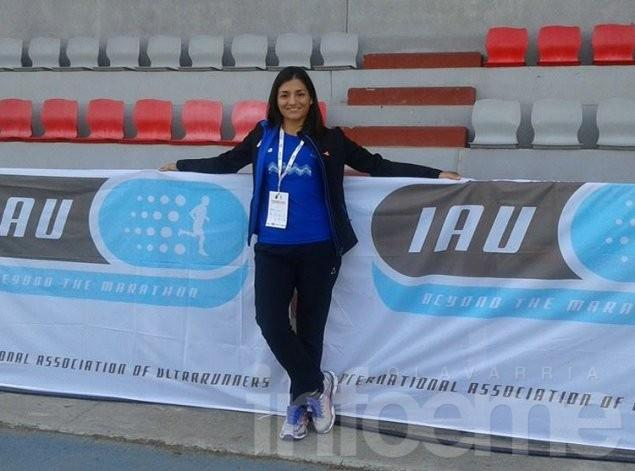 Ivana Farías corrió la Maratón 42k Buenos Aires
