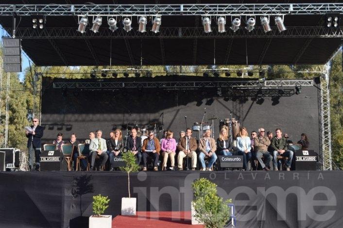 Con discursos contrapuestos quedó inaugurada la edición 2015 de la Expo Olavarría