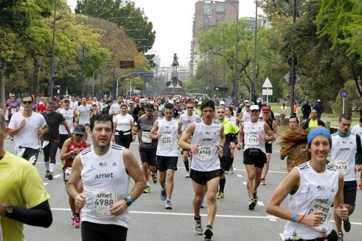 Otro olavarriense participó de la Maratón 42k