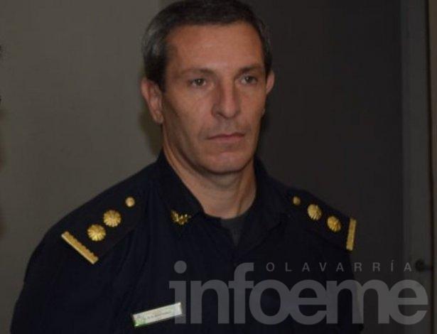 Luis Albertario estará a cargo de la Coordinación de Policía de Olavarría