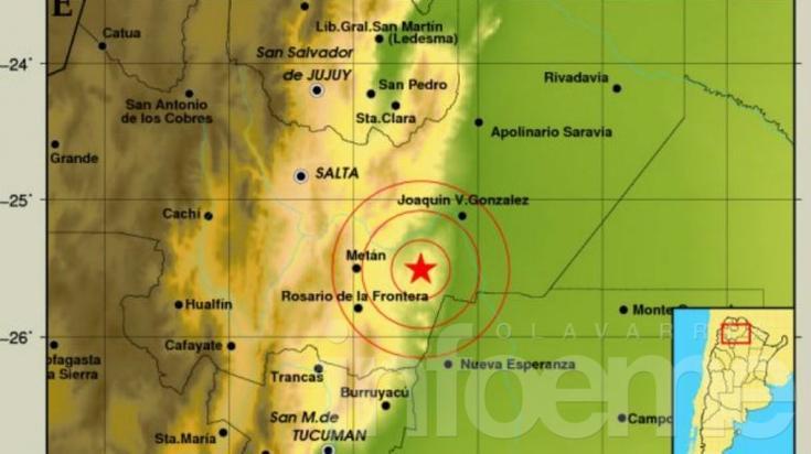 Fuerte temblor en Salta por un sismo de 5,9°:un muerto y varios heridos