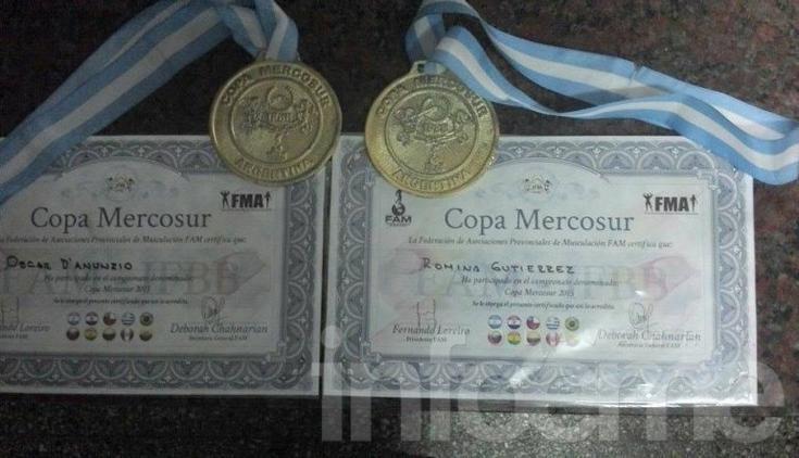 Dos podios y un cuarto puesto para los locales en la Copa Mercosur