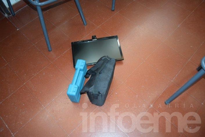 Robo y destrozos en la Escuela Nº: 24 y Secundaria Nº: 12