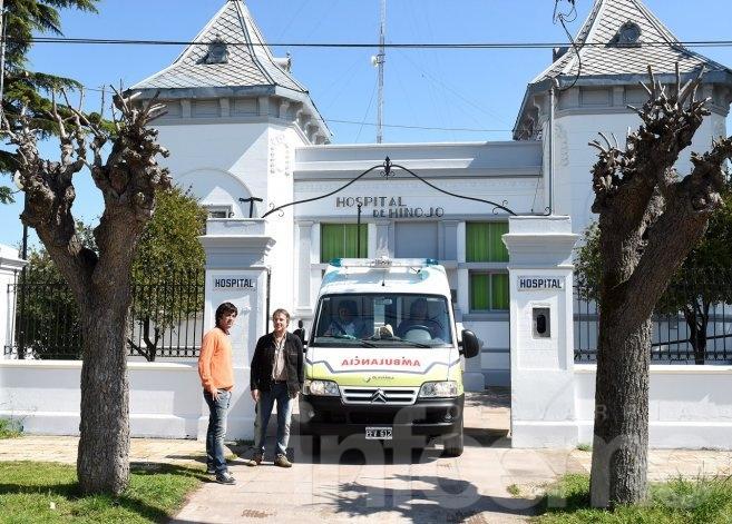 El Hospital Municipal de Hinojo tiene nueva ambulancia
