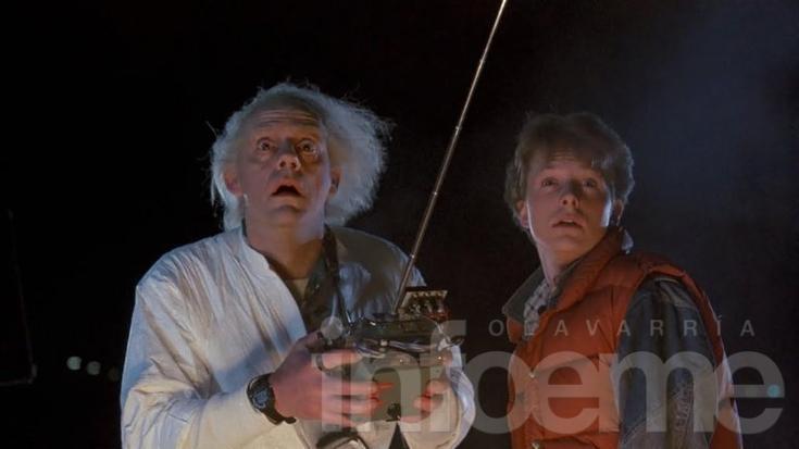 Marty McFly llegó al futuro