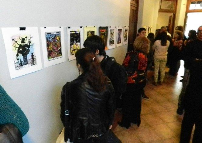 Estudiantes de Artes Visuales abrieron muestra en La Higuera