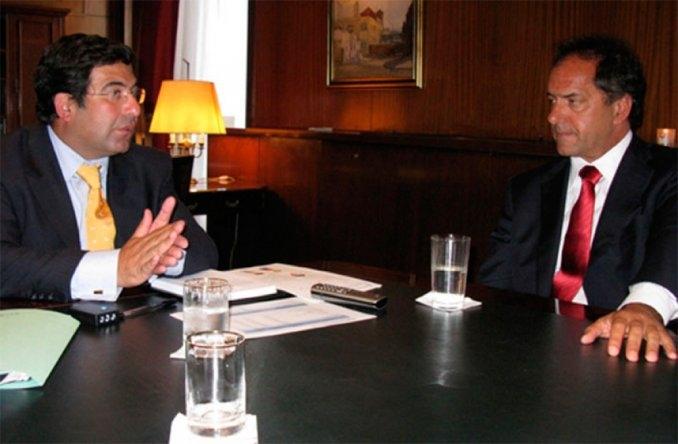 Scioli confirmó la continuidad de Echegaray en la AFIP si gana las elecciones