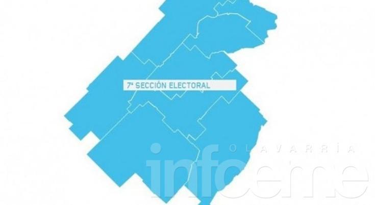 Candidatos y escenarios en la Séptima Sección Electoral