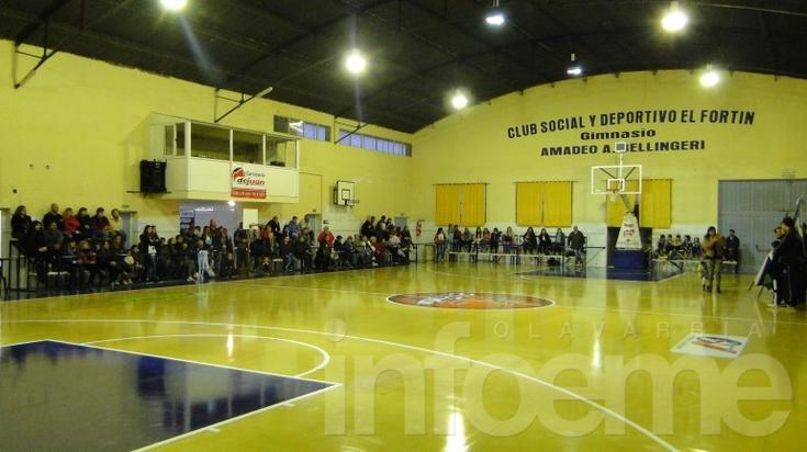 """El Fortín inauguró el nuevo piso flotante del """"Bellingeri"""""""