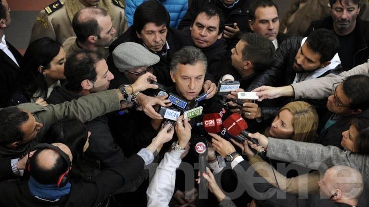"""Mauricio Macri: """"Argentina elige si sigue igual o si quiere un cambio histórico"""""""
