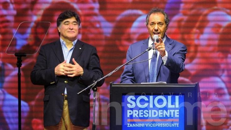 Daniel Scioli reconoció que habrá ballotage