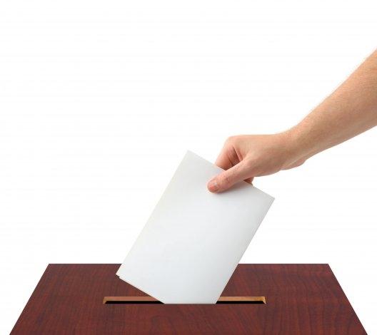 El voto en blanco bajó un punto, el 8% lo eligió