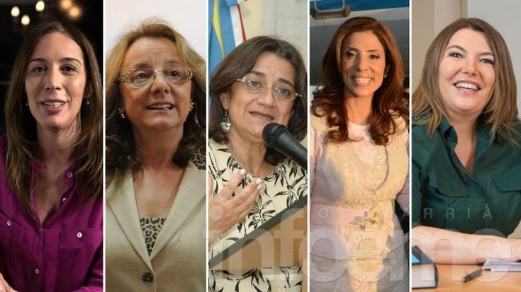 Las mujeres al poder: habrá cinco gobernadoras