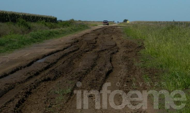 Multas a quienes transiten en caminos rurales días de lluvia