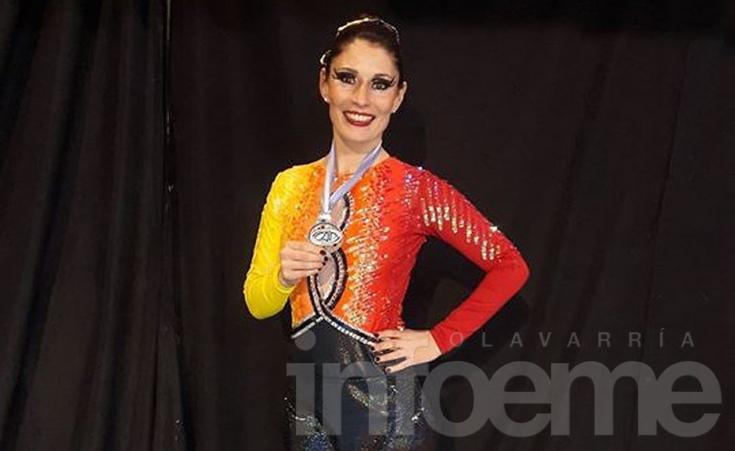 Patín: Mariana Espil subcampeona mundial en Italia
