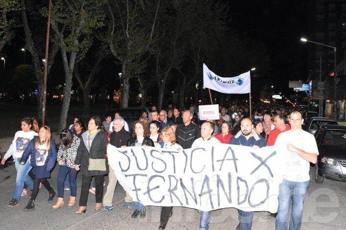 """Olavarría se movilizó """"por justicia y más seguridad"""""""