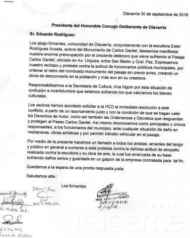 """Vecinos preocupados por el """"deterioro"""" del Pasaje Carlos Gardel"""